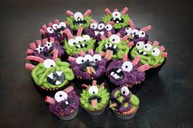 Cupcake Decorating Halloween The Cake Trail Monster Cupcakes Apple And Cinnamon