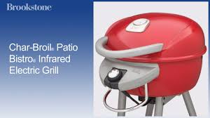 Char Broil Patio Bistro Electric Grill Review by Char Broil Patio Bistro Infrared Electric Grill Youtube