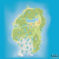 Gta World Map Map Of Letter Scraps In Gta 5
