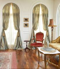 dallas palladian window treatments living room traditional with
