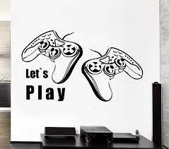 amazon com wall stickers vinyl decor video games joystick xbox