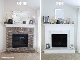 Home Design Before And After Cool Fireplace Before And After Home Design Wonderfull Modern To