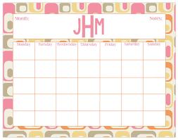 Desk Calendar Custom Large Desk Calendar Retro Print Monthly Calendar Or Weekly