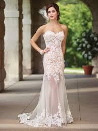 mon cheri wedding dresses scalloped sweetheart wedding dress 117197 enchanting by mon cheri