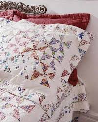 Quilted Bed Valance Pinwheel Window Valance Is A Delightful Touch Quilting Digest