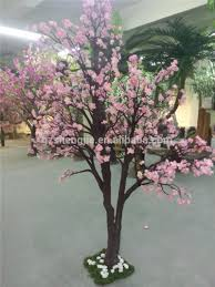 indoor 200cm artifical tree easy clean up 6ft silk peach flower