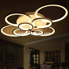 Acrylic Ceiling Light Modern Dimmable By Remote Led Acrylic Ceiling Lights For