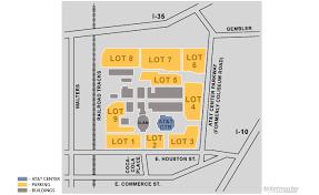 Ellis Park Floor Plan At U0026t Center San Antonio Tickets Schedule Seating Chart