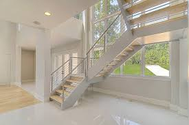 Stainless Steel Stair Handrails Stainless Steel Staircase Artistic Stairs