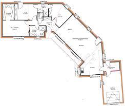 plan maison contemporaine plain pied 3 chambres plan maison 6 chambres chambre
