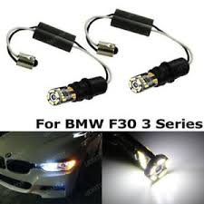 bmw f30 fog light bulb 6000k white error free ba9s h6w led bulbs for bmw f30 3 series