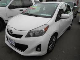 2014 Toyota Yaris Interior Used 2014 Toyota Yaris For Sale Pricing U0026 Features Edmunds