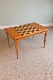 chess board coffee table antiques atlas coffee table with inlaid chessboard top