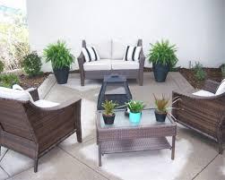 concrete backyard design stirring patio 8 clinici co