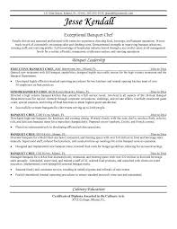 Food Industry Resume Examples by Chef Resumes Examples Resume Template For Chef Chef Resume