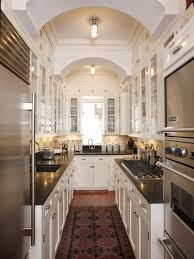 modern galley kitchen photos kitchen style high end appliances modern white galley kitchen