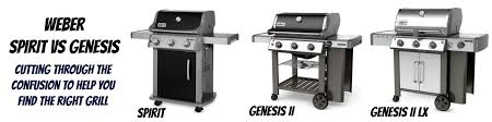 weber spirit vs genesis what is different and which is the best