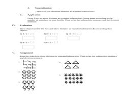 division as repeated subtraction lesson plans u0026 worksheets