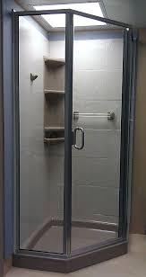 38 Inch Neo Angle Shower Doors Standard Showers