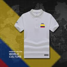 Kenya Flag Clothing Colombia Polo Shirts Men Short Sleeve White Brands Printed For