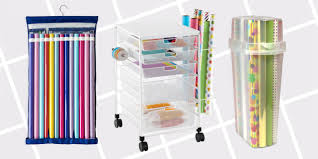 Kitchen Wrap Organizer by 12 Best Wrapping Paper Organizers U0026 Containers For 2017 How To