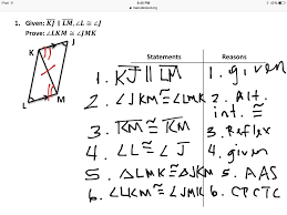 Cpctc Worksheet Answers Showme Two Column Proof Triangles