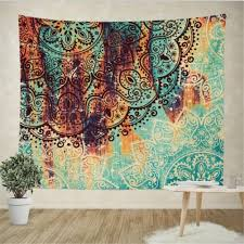 Hippie Curtains To Cheer Up Your Room Boho Psychedelic Elephant Tree Of Life Floral Tapestry Hippy