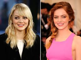 blonde to brunette hair celebs who have had blonde and dark hair blonde and brunette