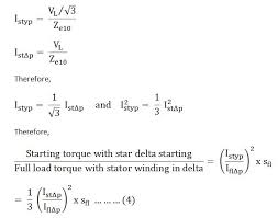 what is star delta starter its theory circuit globe