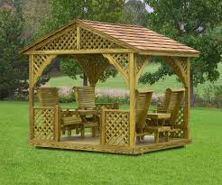 Swings And Gliders Patio Furniture by Gazebo Swings Amish Mike Amish Sheds Amish Barns Sheds Nj