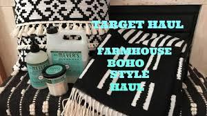 target farmhouse boho home decor haul giveaway youtube target farmhouse boho home decor haul giveaway