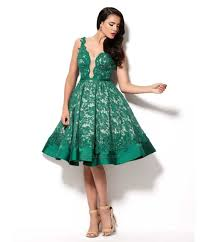 online get cheap emerald green sleeved prom dress aliexpress com