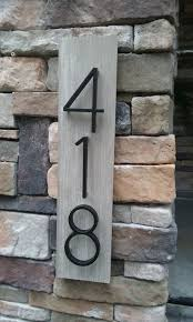 Address Home Decor Decorative House Number Signs Astound Best 25 Numbers Ideas On