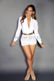 white romper jumpsuit low v neck white sleeved romper jumpsuit