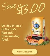 printable nature s recipe dog food coupons 3 00 1 nature s recipe premium dog food