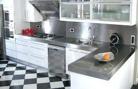 plan de travail inox cuisine cuisine plan de travail cuisine plan de travail inox plan de travail
