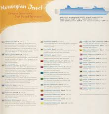 Cruise Ship Floor Plans Norwegian Jewel Deck Plan