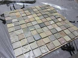 How To Remove Tile Flooring Mosaic Tile Serving Tray The Home Depot Community