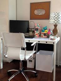 Ikea Working Table Modern Home Office Computer Desk Clean Modern Home Office