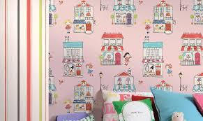 papier peint pour chambre fille papier peint chambre d enfant et rêves en couleurs papier peint enfant
