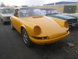 vintage orange porsche vintage german cars raspis british imports