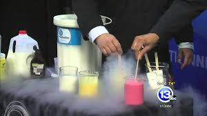 liquid nitrogen ice cream on a stick youtube