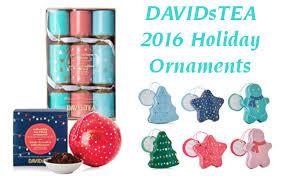 davidstea winter collection ornaments tea nail