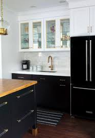 White Kitchen Cabinets With Black Countertops by Small Kitchen White Cabinets Black Countertop Home Design Ideas