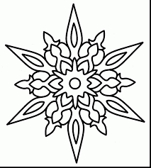 astounding christmas snowflake coloring pages printable with aztec