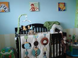 Green And Brown Crib Bedding by Baby Room Gorgeous Picture Of Unisex Baby Nursery Room Decoration