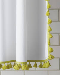 Beautiful Shower Curtains by French Tassel Shower Curtain Pretty Shower Curtains And More