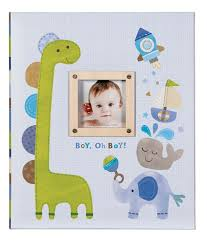 cr gibson photo albums baby memory books boy oh boy tightbound baby memory book by cr