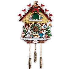 cuckoo clock rudolph the red nosed reindeer 50th anniversary