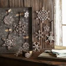 snowflake table top decorations silver splendor glitter snowflake christmas table top decorations